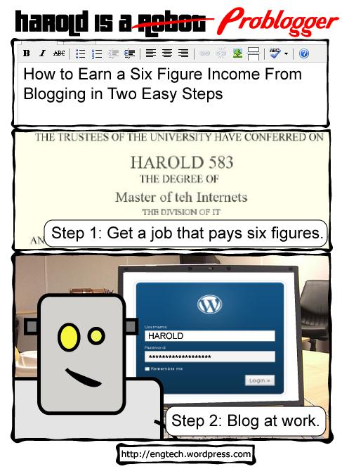 Sechstelliges Einkommen mit Bloggen verdienen